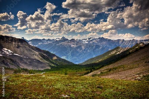 Leinwandbild Motiv Mountin Valley