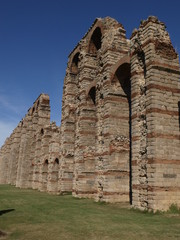 Acueducto romano de los Milagros en Mérida