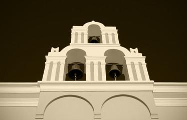 Church belfry tower