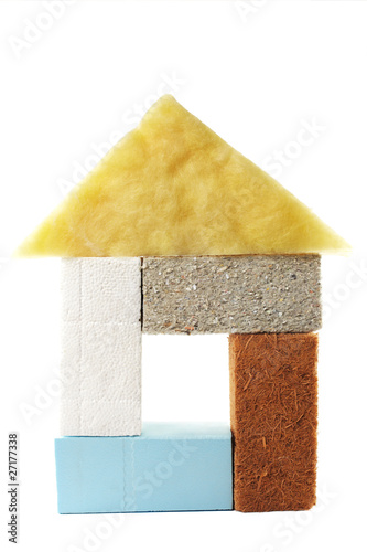 various materials for thermal insulation