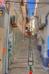 Treppenaufgang in Lagos