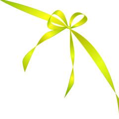 grüne Schleife und Band