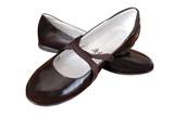 black varnished girl shoes poster