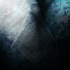 Grunge freemason symbol