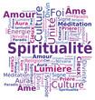 Nuage de mots - Spiritualité en Français