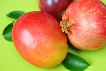 Mango, Granatapfel