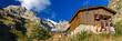 Les Alpes - Parc national des Ecrins - Refuge de Chaborneou