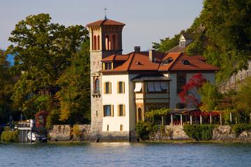 A beautiful house in Italian style (Switzerland).