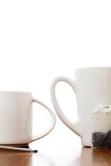 Teacup and coffee