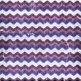 Blue,  violet wavy stripes for shabby scrapbook background poster