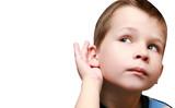 boy listens to gossip interest