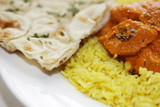 Chicken Tikka Masala with Pliau Rice