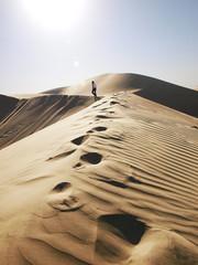 einsamer läufer - Wüste