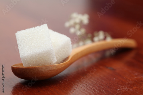 Sugar collection - white cubes