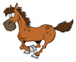 Cartoon Horse Running