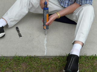 Caulking Concrete