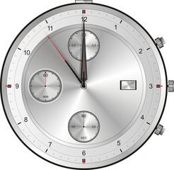 6 Sekunden vor 12 Uhr 0 Uhr 24 Uhr Geisterstunde