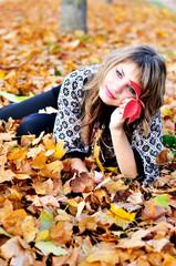 rest in autumn park