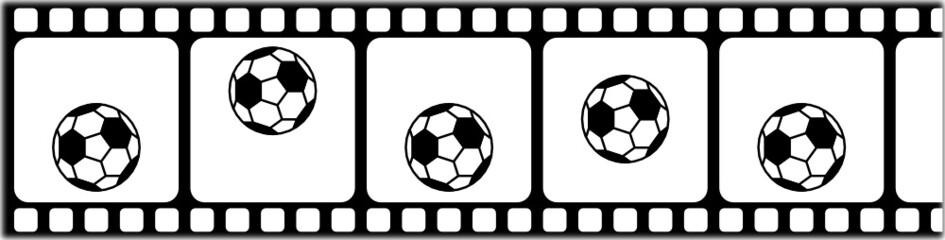 Springender Fußball