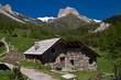 Les Alpes - La vallee etroite.