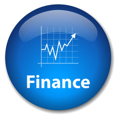 Bouton FINANCE (économie bourse argent business banque affaires)
