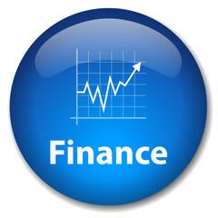 Bouton FINANCE (économie bourse argent business banque affaires)