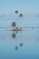 Motu du lagon de Raiatea, Polynésie française