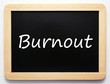 Burnout - Konzept Tafel - Concept Sign