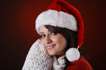 Mrs. Claus smiling