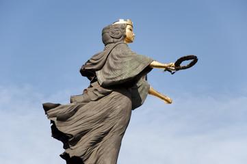 Holy Wisdom statue in Sofia