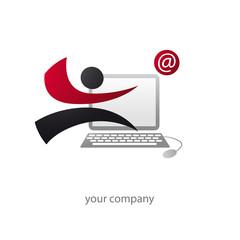 logo entreprise, service informatique