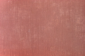 Natural Deep Red Grunge Linen Texture Background Closeup