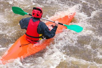 Turbulences en rivière