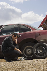 Tire Frustrations At Roadside