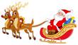 Santa sleigh - 27240142