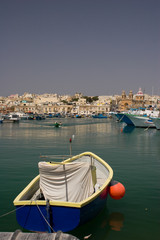 Fishing harbor of Marsaxlokk, Malta