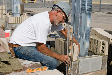 Leveling Vertical Bricks