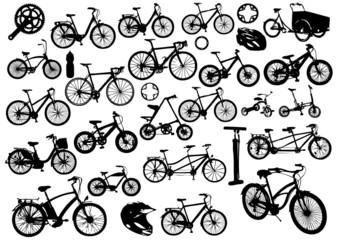 30 elements vecteurs pour le vélo