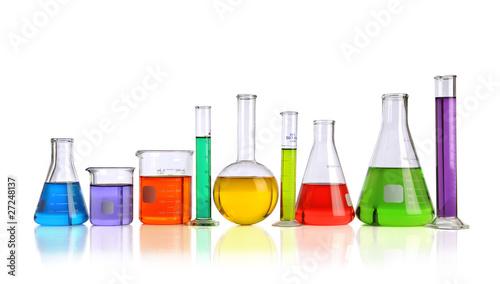 Fototapeta Laboratory Glassware