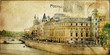 Parisian vintage series cards