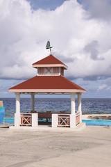 Hütte am Strand von Grand Cayman