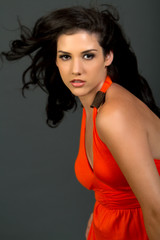 Beautiful sexy ethnic woman