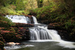 Beautiful cascades of Clare Glens - Ireland