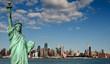 tourism concept for beautiful new york city skyline