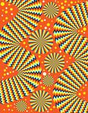 Zany Zigzags 2  (motion illusion) poster