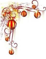 Natale Decorazione Angolo Pagina-Christmas Ornamental Corner