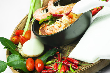 Tom Yum Goong - Thailamd Spicy Shrimp Soup