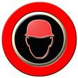 panneau danger, port du casque