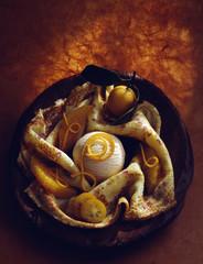 Glace et crêpe flambée au Grand-Marnier