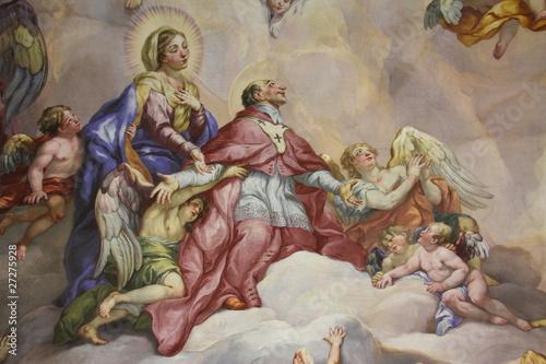 Fresken, Karlskirche, Wien